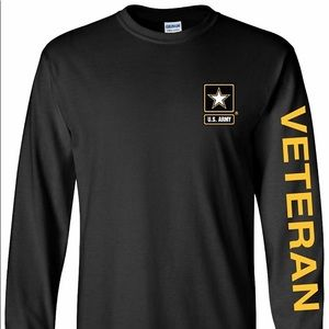 New - US Army Long Sleeve Tee